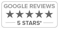Google reviews icon with over 4 star rating